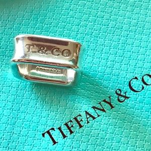 TIFFANY & CO. 1837 SQUARED BAND RING